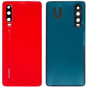 Huawei P30 - Battery Cover Amber Sunrise With Camera Lens