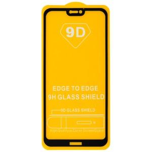 Huawei P20 Lite - Full Arc Tempered Glass Black