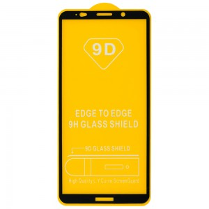 Huawei Ascend Mate 10 Pro - Full Arc Tempered Glass Black