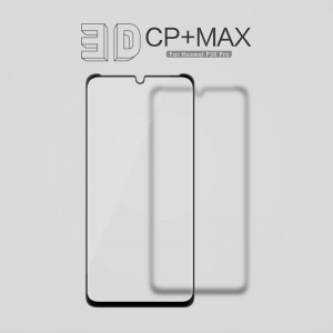 Huawei P30 Pro  - NillKin 3D CP+ Max Full Coverage Anti-explosion Tempered Glass Black