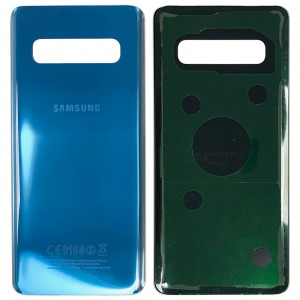 Samsung Galaxy S10 G973 - Battery Cover with Adhesive Blue