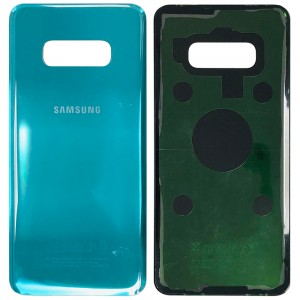 Samsung Galaxy S10e G970 - Battery Cover with Adhesive Green