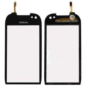 Nokia Lumia 701 - Vidro Touch Screen Preto