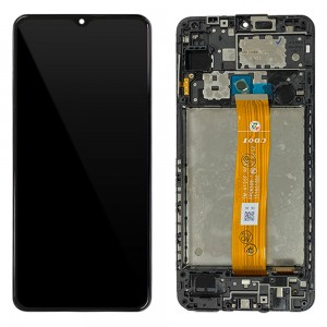 "Samsung Galaxy A30 A305F - Full Front LCD Digitizer Black "" Service Pack """