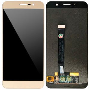 ZTE Blade A910 BA910 - Full Front LCD Digitizer Gold