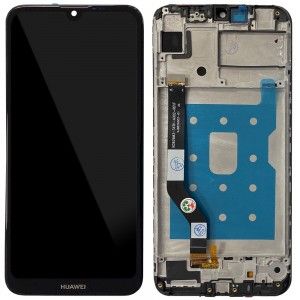 Huawei Y7 Prime / Pro (2019) - Full Front LCD Digitizer with Frame Black