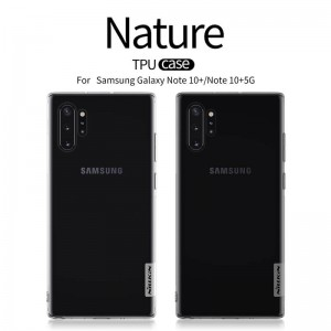 Samsung Galaxy Note 10+ N975 - Nillkin Nature TPU Case 0.6mm