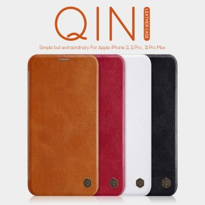 iPhone 11 Pro - NILLKIN Qin Leather Case