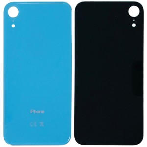 iPhone XR - Battery Cover with Big Camera Hole Blue