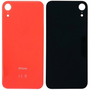 iPhone XR - Battery Cover with Big Camera Hole Coral