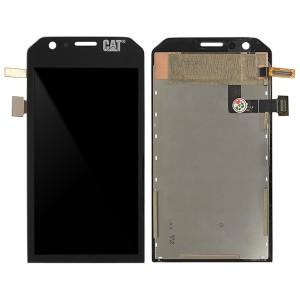 Cat S31 - Full Front LCD Digitizer Black