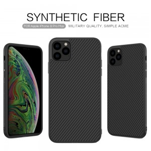 iPhone 11 Pro Max - Nillkin Synthetic Fiber Phone Case