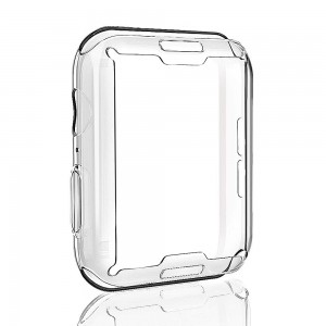 iWatch 4 40mm - Overall Protective TPU HD Clear Case