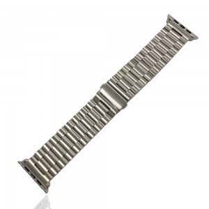 iWatch 38mm / 40mm - Stainless Steal Strap Silver