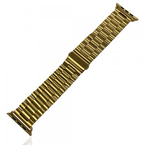 iWatch 38mm / 40mm - Stainless Steal Strap Gold
