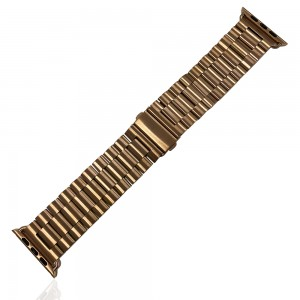 iWatch 42mm / 44mm - Stainless Steal Strap Pink Gold
