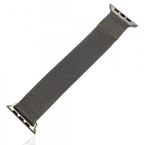 iWatch 42mm / 44mm - Stainless Steal Milanese Loop Silver
