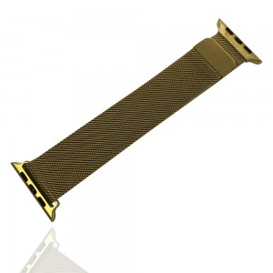iWatch 42mm / 44mm - Stainless Steal Milanese Loop Gold