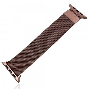 iWatch 42mm / 44mm - Stainless Steal Milanese Loop Pink