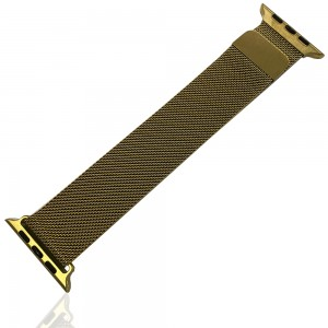 iWatch 38mm / 40mm - Stainless Steal Milanese Loop Gold