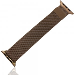iWatch 38mm / 40mm - Stainless Steal Milanese Loop Pink Gold