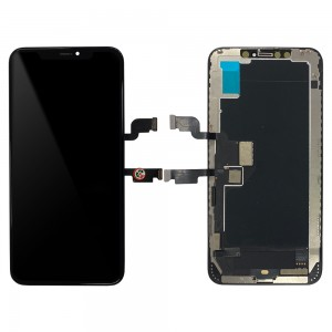 iPhone XS MAX  - Full Front LCD Digitizer Black In-Cell TianMa