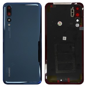 Huawei P20 Pro - OEM Battery Cover Blue With Camera Lens