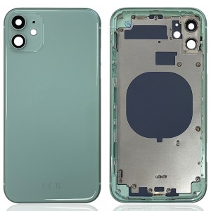 iPhone 11 - Back Housing Cover with Buttons Green
