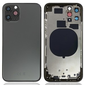 iPhone 11 Pro - Back Housing Cover with Buttons Space Gray
