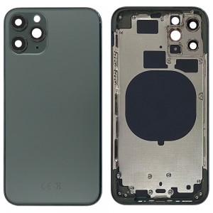 iPhone 11 Pro - Back Housing Cover with Buttons Midnight Green