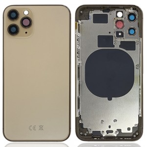 iPhone 11 Pro - Back Housing Cover with Buttons Space Gold