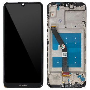 Huawei Y6 Pro (2019) MRD-LX2 (Global) - Full Front LCD Digitizer with Frame Black