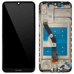 Huawei Y6 (2019) MRD-LX1 / Y6 Prime (2019) - Full Front LCD Digitizer with Frame Black