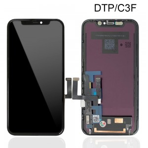 iPhone 11 - Full Front LCD Digitizer (Original Remaded) Black (Comp. DTP/C3F)